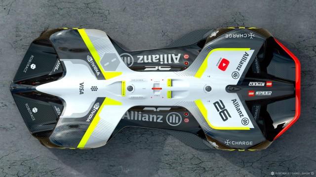 Roborace Robocar self-driving race car