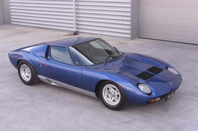Rod Stewart-owned Lamborghini Miura