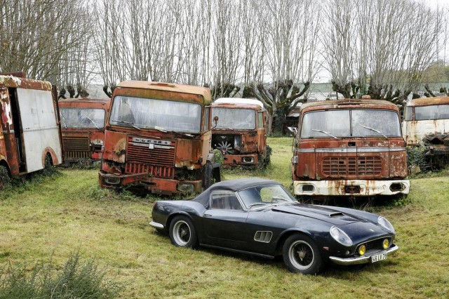 Roger Baillon collection barn find