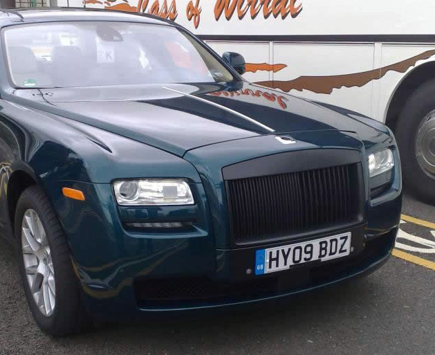 Rolls Royce Ghost in the wild