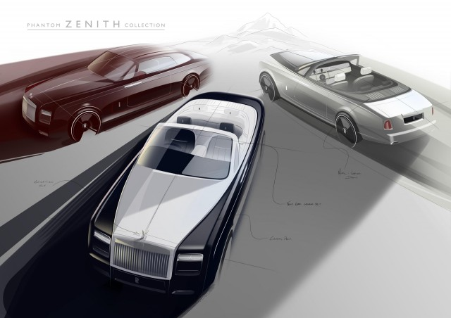 Rolls-Royce Phantom Coupe and Phantom Drophead Coupe Zenith Collection