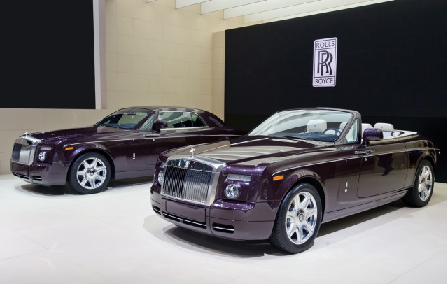 Rolls-Royce Phantom Drophead Coupe, Phantom Coupe