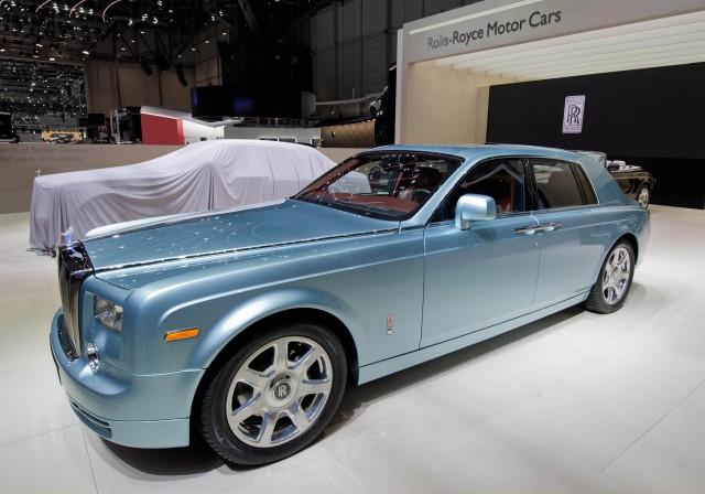 Rolls Royce 102ex Electric Phantom Prototype 2011 Geneva