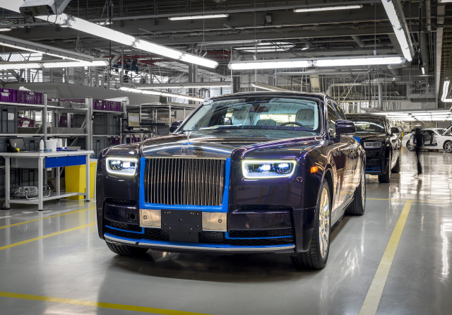 First 2018 Rolls-Royce Phantom heading to auction