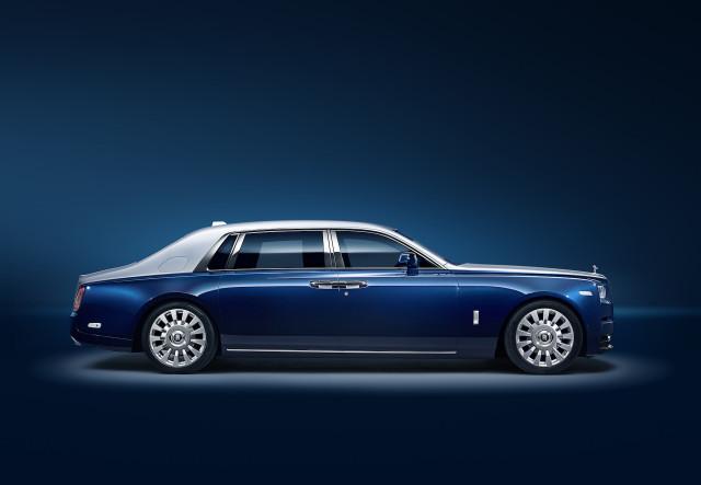 Rolls-Royce Extended Wheelbase Phantom Privacy Suite