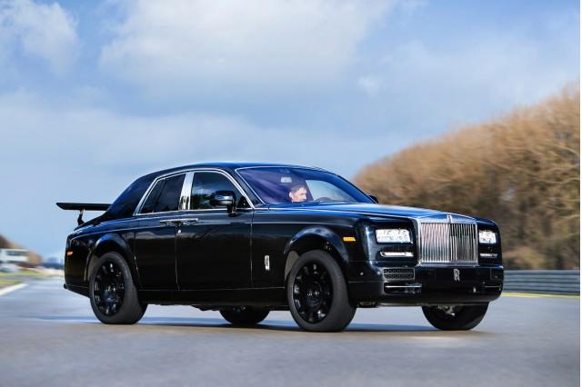 Rolls-Royce Project Cullinan engineering mule