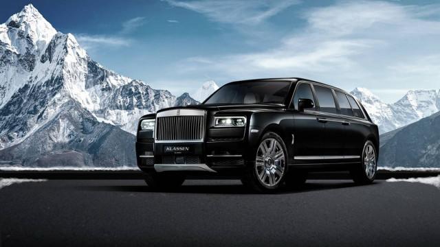 Rolls-Royce Cullinan limo by Klassen