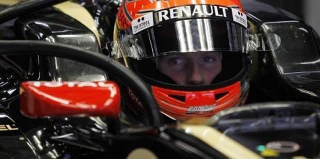 Romain Grosjean Image courtesy Lotus F1 Team