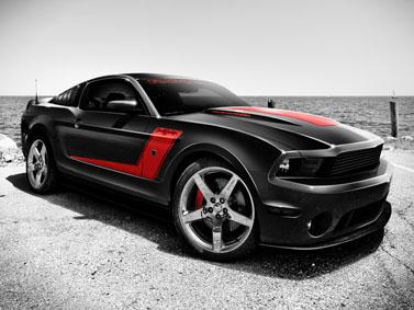 Roush Barrett-Jackson Ford Mustang