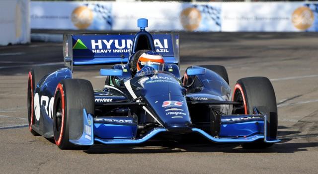 Rubens Barrichello at St Petersburg - Anne Proffit photo