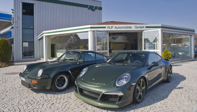 RUF Rt 35 based on the 2012 Porsche 911 Carrera S