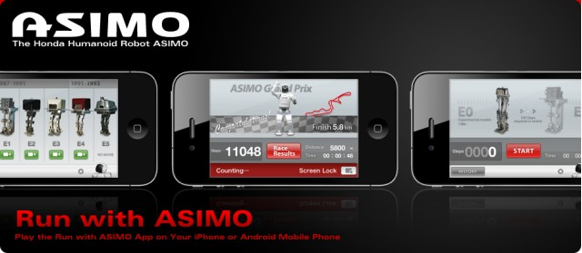run android apps on iphone honda asimo gets his own iphone app android version 17981