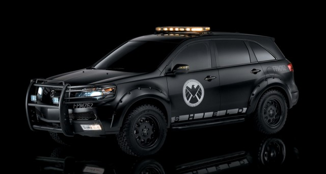 S.H.I.E.L.D.-enhanced Acura MDX from the Avengers movie