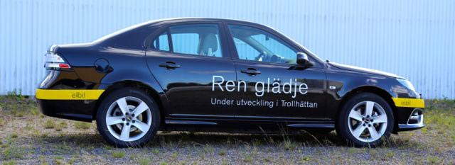 Saab 9 3 Ev Electric Prototype Shown By Nevs 2017