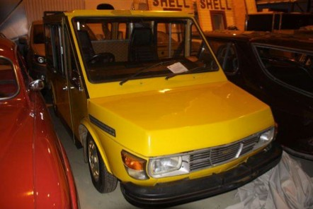 Saab Electric Postal Car