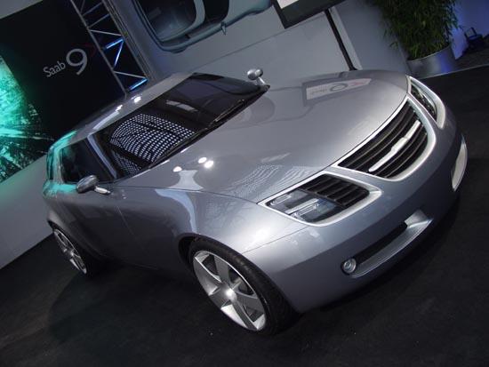 Saab 9X Concept Frankfurt 2001
