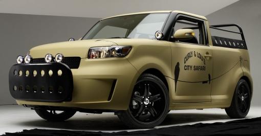 Sage Vaughn designed Scion xB L-Con City Safari pickup