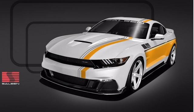 Saleen 302 Black Label Mustang 30-Year Championship Commemorative Edition