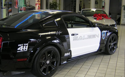 Car Auction Sites >> EBAY: Saleen Transformers Barricade Replica Mustang