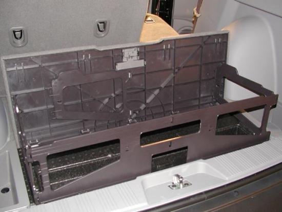 Saturn SUV cargo
