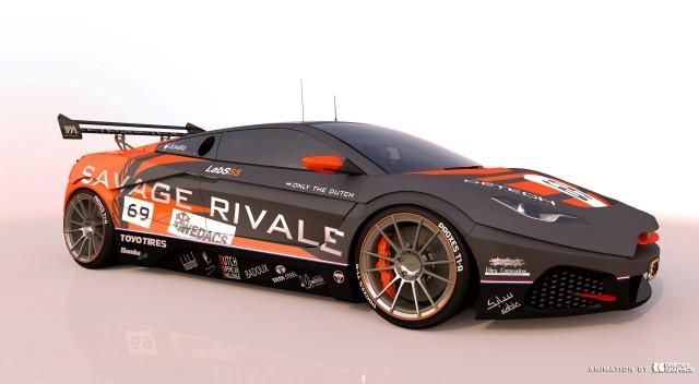 Savage Rivale GTR race car