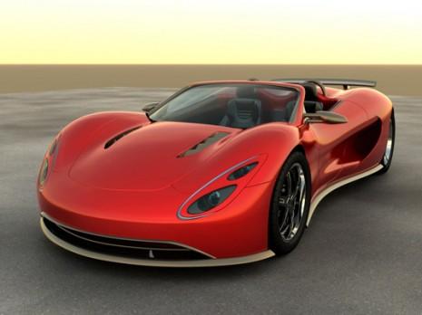Scorpion hydrogen car