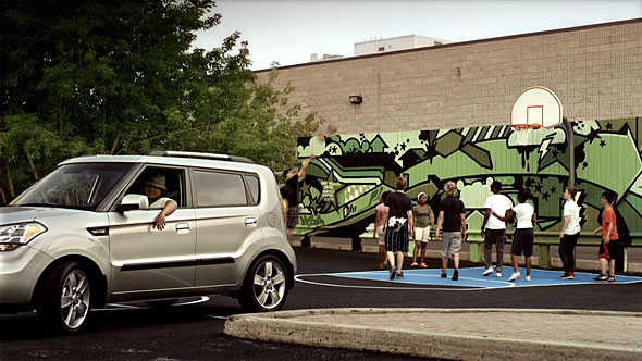 Screencap for Canadian ad for the Kia Soul