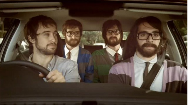 Screencap from Australian clip for the Volkswagen Polo