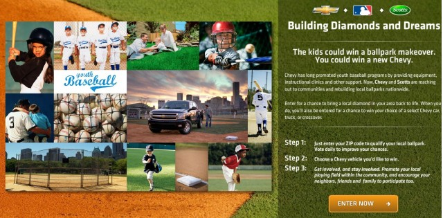 Build A Contest And They Will Come: Chevrolet Steps Up To The Plate For Kids And Baseball