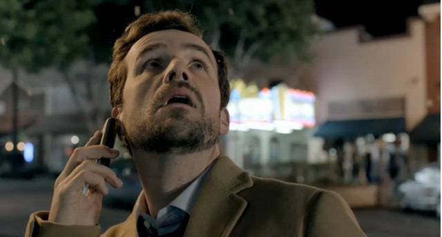 Screencap from Dodge 'Snowpocalypse' commercial
