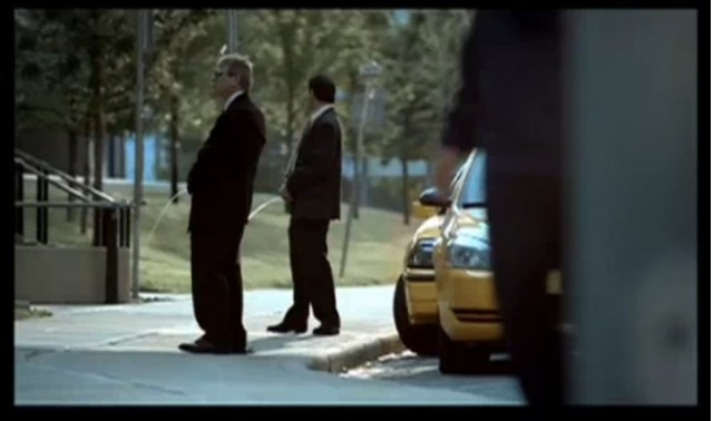 Screencap from Green Calgary's 'Unacceptable' ad