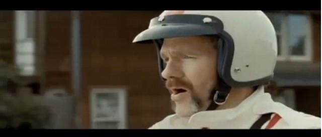 Screencap from Honda's 'Impossible Dream II' ad