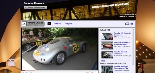 Screencap from Porsche's YouTube channel