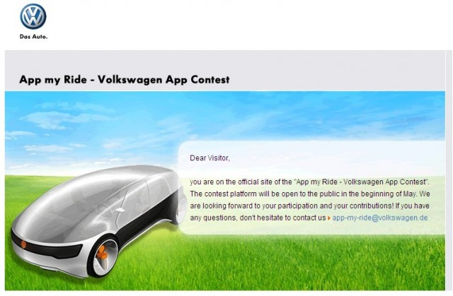 Starting Today: Volkswagen Needs Your Input (To Beat the Ford Sync)