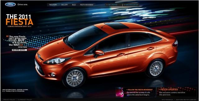 screenshot from FiestaMovement.com website