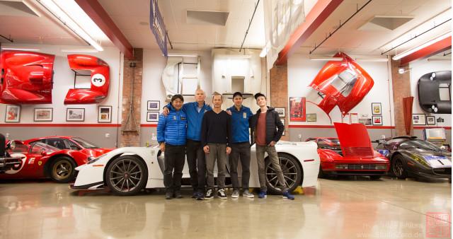 Scuderia Cameron Glickenhaus garage