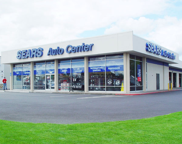 Sears Auto Center in Salem, Oregon