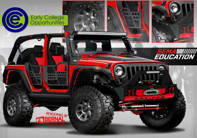 SEMA Jeep Wrangler