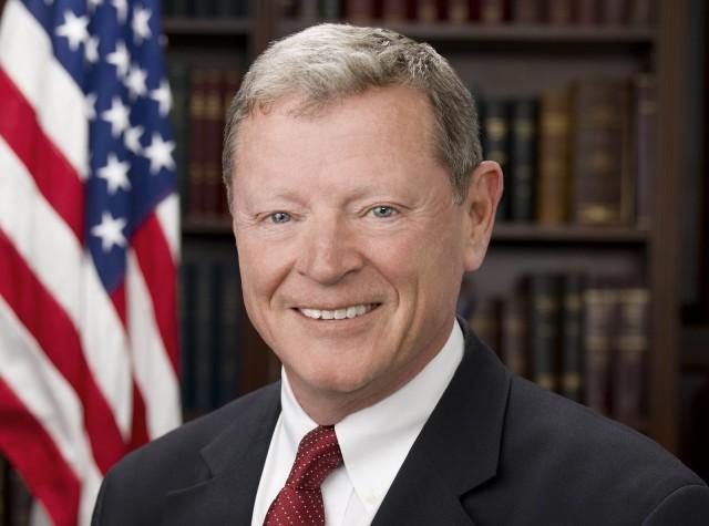 Senator James Inhofe [R-OK]