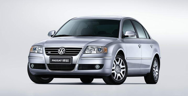 The hydrogen fuel cell Passat Lingyu is the creation of a joint-venture between Volkswagen and Shanghai Auto