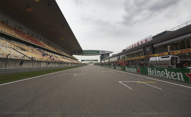 Shanghai International Circuit, home of the Formula 1 Chinese Grand Prix