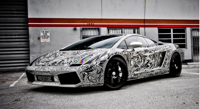 Sharpie Lamborghini by Lamborghini Miami