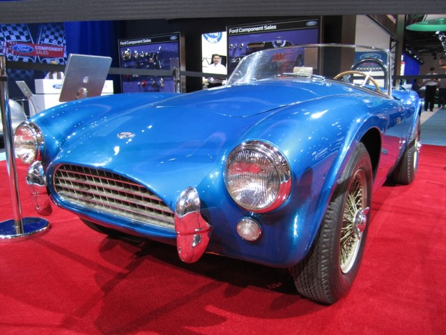 Shelby Cobra Prototype No. 1. Photo by Autoholics.com