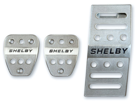 Shelby Manual Pedal Covers