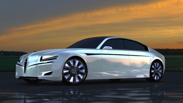Silex Power's Chreos electric luxury sedan (Image: Silex Power)