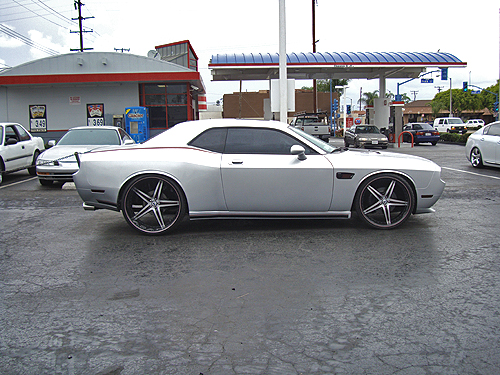 Silver 2009 Dodge Challenger Rt Widebody Hits The Streets