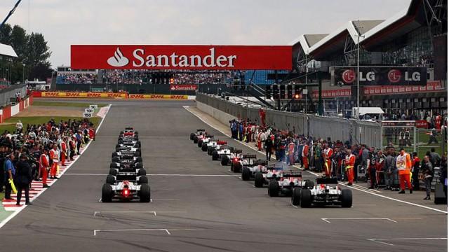 Silverstone Circuit, home of the Formula 1 British Grand Prix