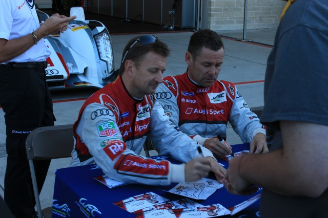 Six Hours of Austin pit walk and driver signing