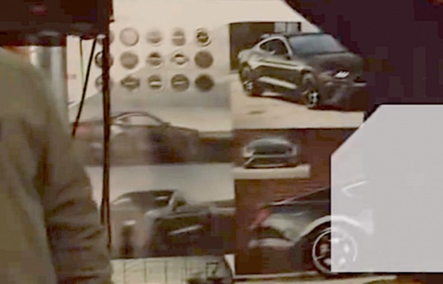 Sketches of alleged Ford Mustang Bullitt appear in promotional video