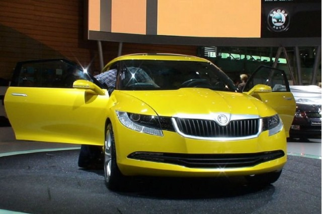 Real Life Images Of The Skoda Joyster Concept